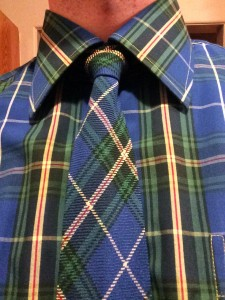 Nova Scotia Tartan Shirt and Tie
