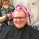 David Dorward Shaves His Head for Cancer Patients